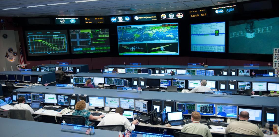 NASA Mission Control Center JPEG